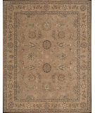 RugStudio presents Nourison Heritage Hall HE07 Peach Hand-Tufted, Best Quality Area Rug