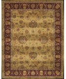RugStudio presents Nourison Heritage Hall HE11 Gold Hand-Tufted, Best Quality Area Rug