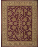 RugStudio presents Nourison Heritage Hall HE14 Burgundy Hand-Tufted, Best Quality Area Rug