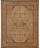 RugStudio presents Nourison Heritage Hall HE16 Gold Hand-Tufted, Best Quality Area Rug