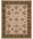RugStudio presents Nourison Heritage Hall HE19 Beige Hand-Tufted, Best Quality Area Rug