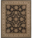 RugStudio presents Nourison Heritage Hall HE19 Black Hand-Tufted, Best Quality Area Rug