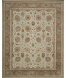RugStudio presents Nourison Heritage Hall HE-22 Aqua Hand-Tufted, Good Quality Area Rug