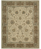 RugStudio presents Nourison Heritage Hall HE-27 Mist Hand-Tufted, Better Quality Area Rug