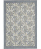 RugStudio presents Barclay Butera Bbl5 Hinsdale Hin01 Sky Blue Machine Woven, Best Quality Area Rug