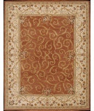 RugStudio presents Nourison Heritage Savonnerie HS-03 Brick Hand-Tufted, Best Quality Area Rug