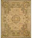 RugStudio presents Nourison Heritage Savonnerie HS-05 Taupe Hand-Tufted, Best Quality Area Rug