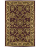 RugStudio presents Nourison India House IH-01 Burgundy Hand-Tufted, Good Quality Area Rug