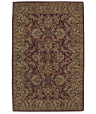 RugStudio presents Nourison India House IH-17 Burgundy Hand-Tufted, Good Quality Area Rug