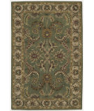 RugStudio presents Nourison India House IH-18 Green Hand-Tufted, Good Quality Area Rug