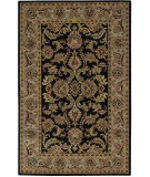 RugStudio presents Nourison India House IH-48 Black Hand-Tufted, Good Quality Area Rug