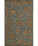 RugStudio presents Nourison India House IH-64 Blue Hand-Tufted, Good Quality Area Rug