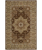 RugStudio presents Rugstudio Sample Sale 25194R Chocolate Hand-Tufted, Good Quality Area Rug