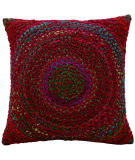 RugStudio presents Kathy Ireland Pillows Ik004 Wine