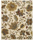 RugStudio presents Nourison In Bloom Inb06 Ivory Hand-Tufted, Good Quality Area Rug