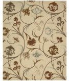 RugStudio presents Nourison In Bloom Inb09 Beige Hand-Tufted, Good Quality Area Rug