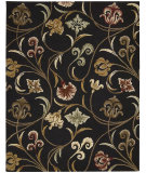RugStudio presents Nourison In Bloom Inb09 Black Hand-Tufted, Good Quality Area Rug