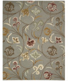 RugStudio presents Nourison In Bloom Inb09 Smoke Hand-Tufted, Good Quality Area Rug