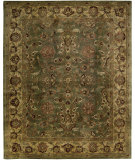 RugStudio presents Rugstudio Sample Sale 23173R Green Hand-Tufted, Best Quality Area Rug