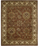 RugStudio presents Nourison Jaipur Ja13 Rust Hand-Tufted, Good Quality Area Rug