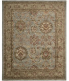 RugStudio presents Rugstudio Sample Sale 23180R Aqua Hand-Tufted, Best Quality Area Rug