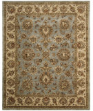 RugStudio presents Nourison Jaipur JA-32 Light Blue Hand-Tufted, Best Quality Area Rug