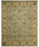 RugStudio presents Nourison Jaipur JA-34 Seafoam Hand-Tufted, Best Quality Area Rug