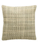 RugStudio presents Nourison Pillows Natural Leather Hide Jh263 Silver White