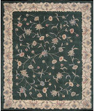 RugStudio presents Nourison Julian JL-12 Green Hand-Tufted, Good Quality Area Rug