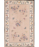 RugStudio presents Nourison Julian JL-13 Peach Hand-Tufted, Better Quality Area Rug