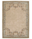 RugStudio presents Nourison Julian JL-18 Beige Hand-Tufted, Better Quality Area Rug