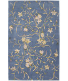 RugStudio presents Nourison Julian JL-33 Light Blue Hand-Tufted, Better Quality Area Rug