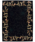 RugStudio presents Nourison Julian JL-46 Black Hand-Tufted, Better Quality Area Rug