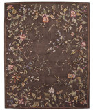 RugStudio presents Nourison Julian JL-54 Brown Hand-Tufted, Better Quality Area Rug