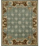 RugStudio presents Rugstudio Famous Maker 39693 Blue Hand-Tufted, Better Quality Area Rug