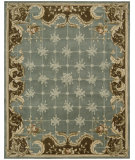 RugStudio presents Rugstudio Sample Sale 25329R Blue Hand-Tufted, Better Quality Area Rug