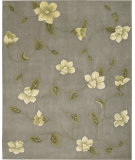 RugStudio presents Nourison Julian JL-61 Grey Hand-Tufted, Better Quality Area Rug