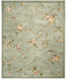 RugStudio presents Rugstudio Sample Sale 23212R Aqua Hand-Tufted, Better Quality Area Rug