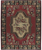 RugStudio presents Nourison Mongol Kilim K350 Red Flat-Woven Area Rug