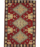 RugStudio presents Nourison Mongol Kilim K353 Red Flat-Woven Area Rug
