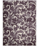 RugStudio presents Rugstudio Sample Sale 98557R Ki200 Dark Violet Machine Woven, Best Quality Area Rug