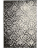 RugStudio presents Kathy Ireland Ki02 Santa Barbara Royal Shimmer Ki201 Grey Machine Woven, Best Quality Area Rug