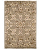 RugStudio presents Kathy Ireland Ki03 Bel Air Buckingham Ki301 Brown Machine Woven, Best Quality Area Rug