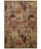 RugStudio presents Kathy Ireland Ki03 Bel Air Montecito Ki305 Brown Machine Woven, Best Quality Area Rug