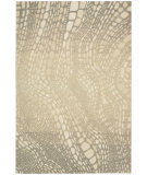 RugStudio presents Kathy Ireland Ki04 Palisades Lava Flow Ki400 Light Olive Woven Area Rug