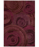 RugStudio presents Kathy Ireland Ki04 Palisades Ovation Ki402 Plum Woven Area Rug