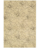 RugStudio presents Kathy Ireland Ki04 Palisades Wildflowers Ki404 Bisque Woven Area Rug