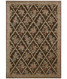 RugStudio presents Kathy Ireland Ki05 Villa Retreat Washington Estate Ki500 Chocolate Machine Woven, Best Quality Area Rug