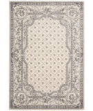 RugStudio presents Kathy Ireland Ki05 Villa Retreat Garden Romance Ki501 Ivory Grey Machine Woven, Best Quality Area Rug