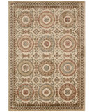 RugStudio presents Kathy Ireland Ki05 Villa Retreat Celestial Elegance Ki502 Cream Machine Woven, Best Quality Area Rug